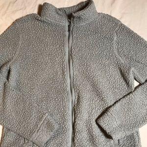 Full Zip Teddy Bear Jacket